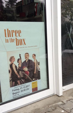 Three in the box band Heideberg