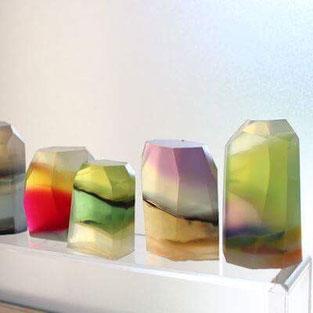 宝石石鹸ジュエリーソープ作り方カラフルな石鹸アロマティカ