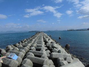 ショアジギングの釣り場 北九州市