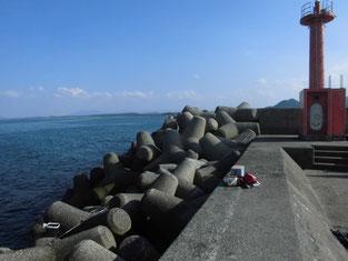 アオリイカの釣り場 芦屋町・岡垣町