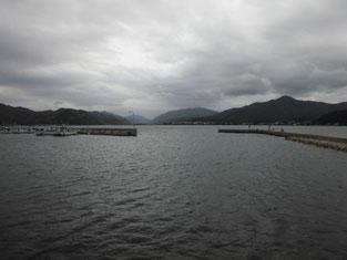 長門市のアオリイカの釣り場