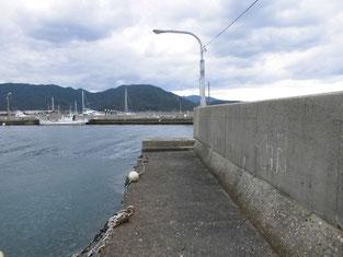 長門市のショアジギングの釣り場