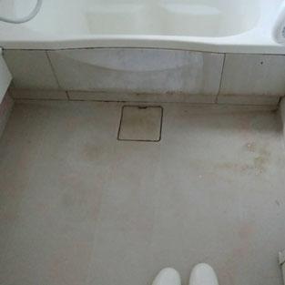 浴室クリーニング 湯垢 水垢 排水溝