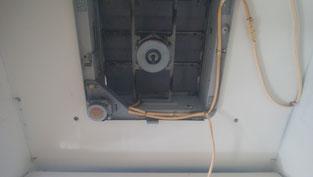 ハウスクリーニング後の換気扇 レンジフード