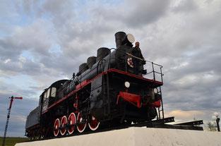 паровоз салехард памятник 501 стройки
