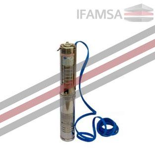 Bomba Sumergible Impulsor NORYL 7 ETAPAS 0.75 HP