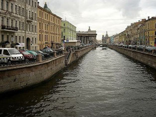 Griboyedov Canal in St.Petersburg