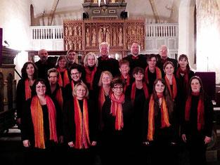 Auftritt in der Kirche in Deckbergen