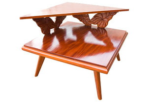 マホガニーコーナーテーブル