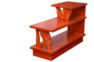 アカシアウッドステップエンドテーブル