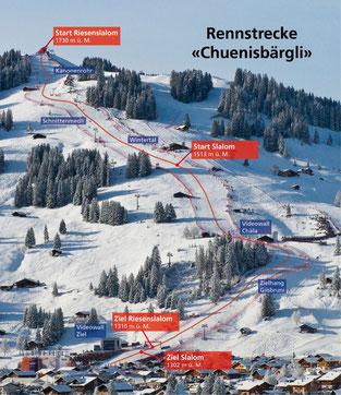 Hier findet der Ski-Weltcup Adelboden statt