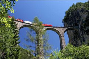 Das Landwasser-Viadukt bei Filisur