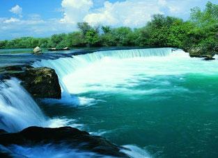 Die Wasserfälle in Manavgat