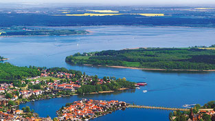 Wunderschön: Die Mecklenburgische Seenplatte