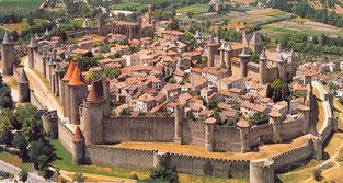 Die mittelalterliche Stadt Carcassonne