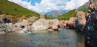 Das Fangotal - ein Naturschutzgebiet auf Korsika