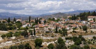 Die Ortschaft Larnaca