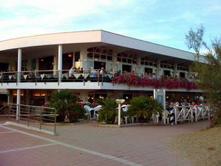 Das Restaurant Riviera in der Anlage