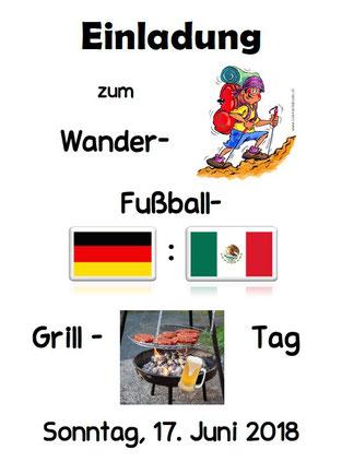 Wander- Fußball- Grilltag