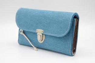 Veganer Geldbeutel ohne Plastik in Deutschland hergestellt, Nachhaltige Taschen und Geldbeutel made in Germany