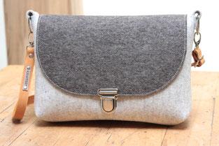 Selma - Tasche aus Wollfilz, made in Germany
