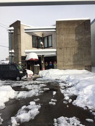 金沢市玉鉾産後骨盤矯正ほしみぐさ 除雪中