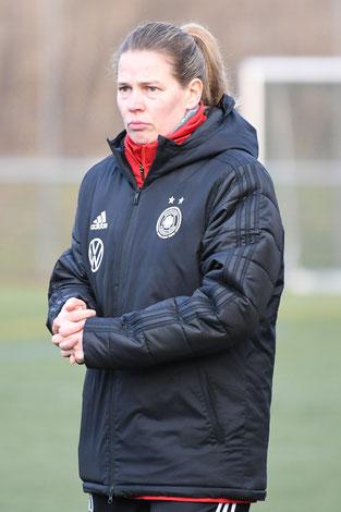 Cheftrainerin Kathrin Peter