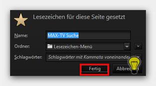Firefox Lesezeichen