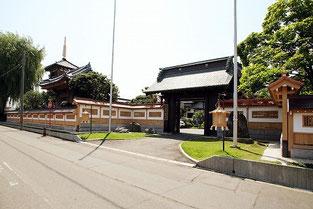 妙経寺(塀)
