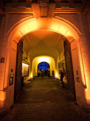 Konzerte im Bürgerhof 2014 - Foto: Martin Schönberger Illumination: Wolfgang F. Lightmaster - Freiwilligen-Zentrum Augsburg