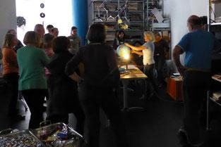 Projekt Kleine Entdecker - 1. Grundschulung am 26.09.2014 - Foto: Freiwilligen-Zentrum Augsburg