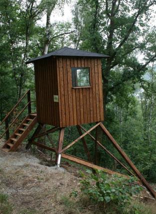 Neue Aussichtsplattform am Historischen Rundweg Achenbach