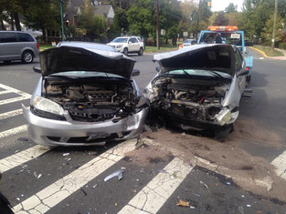 Two car MVA - Midway and Martine