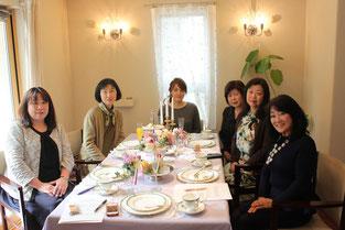 グランホームのレッスンにご参加いただいた北川様とご友人様達♫楽しいひと時でした♪ありがとうございました。