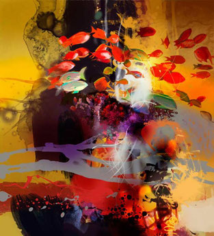 3D Digital Painting CARIBBEAN serie by ©Rafael Espitia