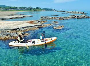 新潟の海でシーカヤックといえば小竹屋旅館