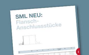 RSP® Sortiment um SML Flansch-Anschlussstücke erweitert