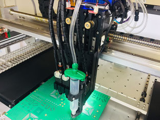 4 head machine dispenser option