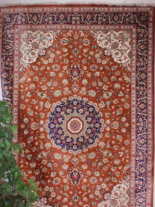 Ghom Seide Teppich 2 x 3