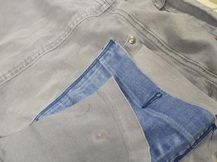 Aufewerten von Kleidung - Änderungsschneiderei sNaeHus Doris in Dornbirn