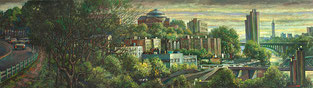 """Harlem River Valley Left Panel"" by Daniel Hauben"
