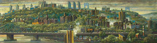 """Harlem River Valley Right Panel"" by Daniel Hauben"