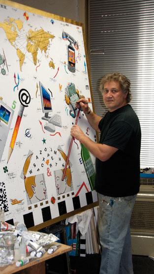Künstler Leslie G. Hunt