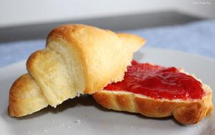 Frühstückshörnchen - mit Joghurt verfeinert