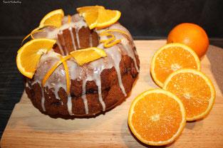 Orangen-Vanille-Gugel mit dem würzigen Extra