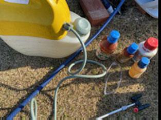 害虫駆除や防虫、消毒で使う噴霧器と薬剤