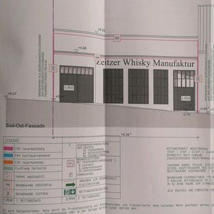 Entwurf der Vorderseite zur Weberstraße