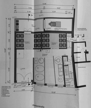 Entwurf der Innenräume