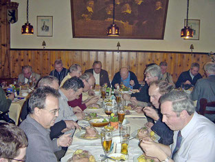 Knuckle of Pork Dinner - 01/15/2002