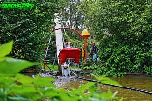 Affen und Vogelpark Eckenhagen Tierpark Wildpark Zoo Nordrhein Westfalen Attraktionen Nautic Jet Karussell Sunkid Heege
